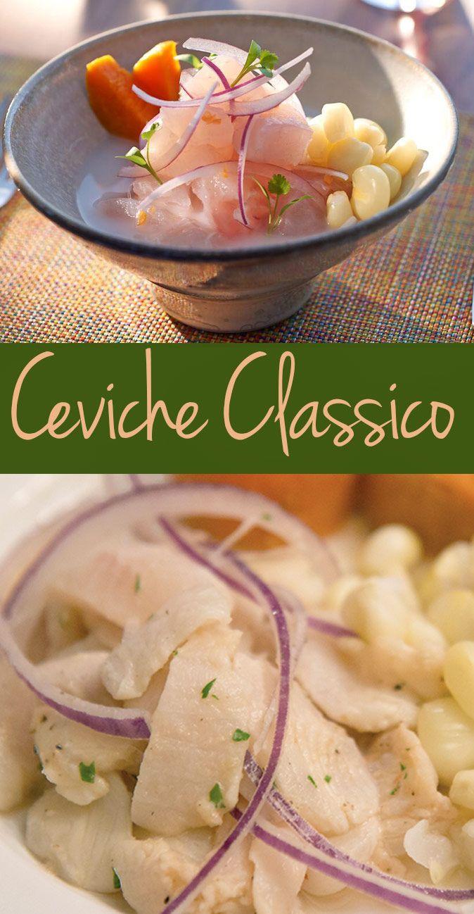 Classic Ceviche with Leche de Tigre