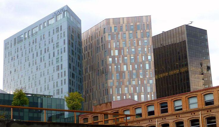 Hotel Silken Diagonal Barcelona - larson® Metallic Steel - Barcelona, Spain.