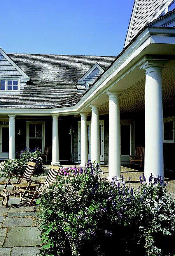The 25 best fiberglass columns ideas on pinterest porch for Crown columns fiberglass