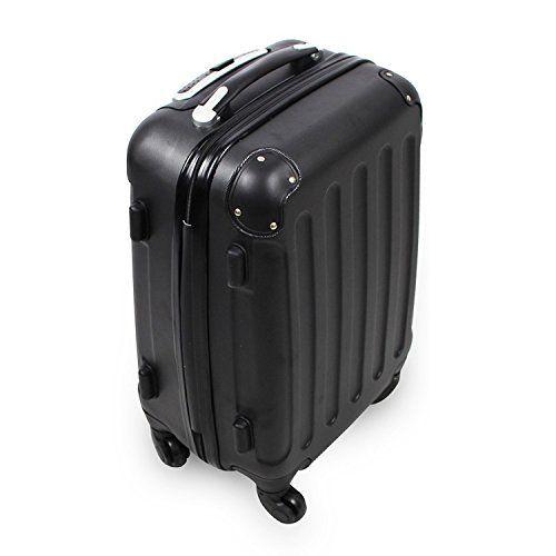Valise cabine 55 cm – Valisette rigide trolley 4 roues et poignée télescopique: Price:34.99Pour profiter au maximum de votre voyage, cette…