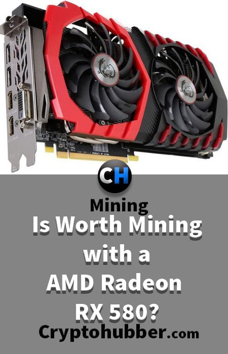 Is Worth Ethereum Mining with a AMD Radeon RX 580? #mining #tutorials #Ethereum #Bitcoin #cryptocurrency #Crypto #Blockchain #Software #market #cryptonite #Asic #Litecoin #Asics #Monero #Dash #hashrate #Rig #miningrig #hash #rate #ICO #invest #investment #coins #profit #profitability