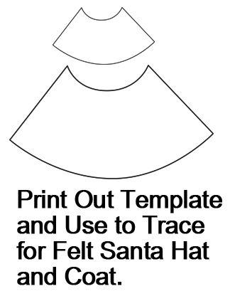 santa claus template step how to make a santa claus
