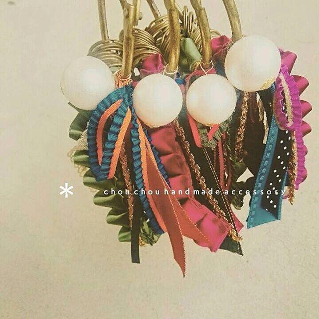 #Handmade #Miscellaneous goods #ハンドメイド #手作り #鹿児島 #美容室 #chouchou #キーホルダー