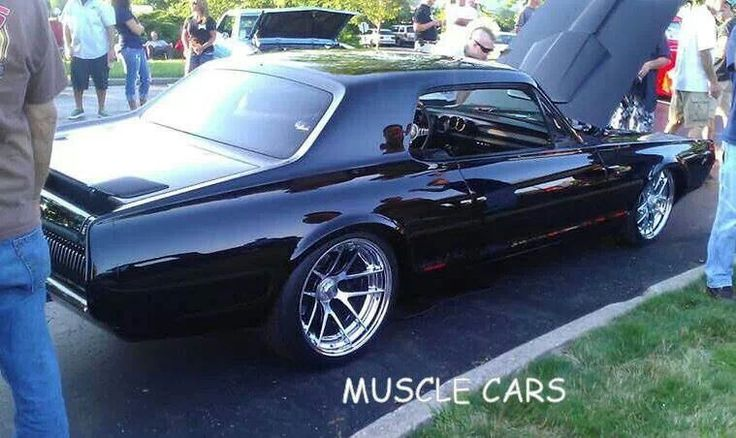 '68(?)cougar | Flat black cars | Pinterest