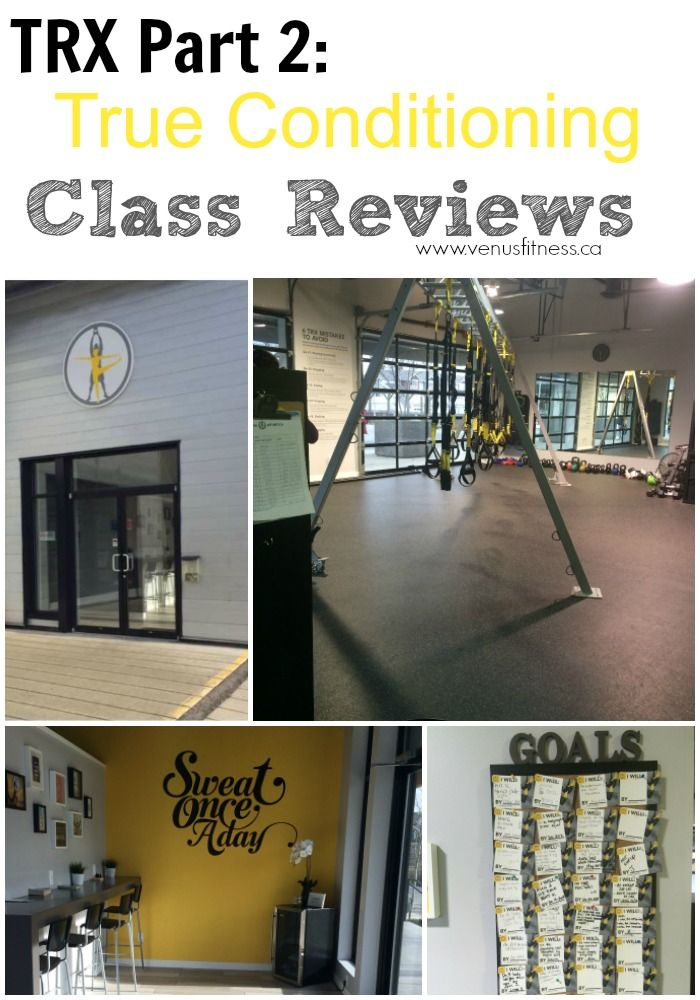 This is the second of a two part series covering The TRX workout and True Conditioning. Part 1 covered TRX: What is it? Who should do it? and five reasons to try it. Todays post reviews 5 group fitness classes at True Conditioning, including two TRX classes.