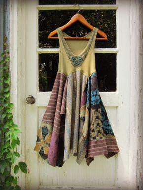 Upcycled Urban Dress