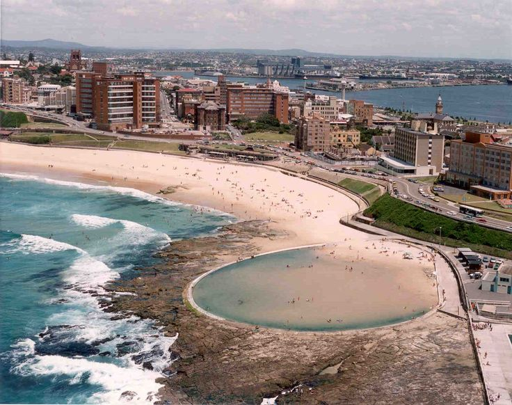 Newcastle Beach and Ocean Baths