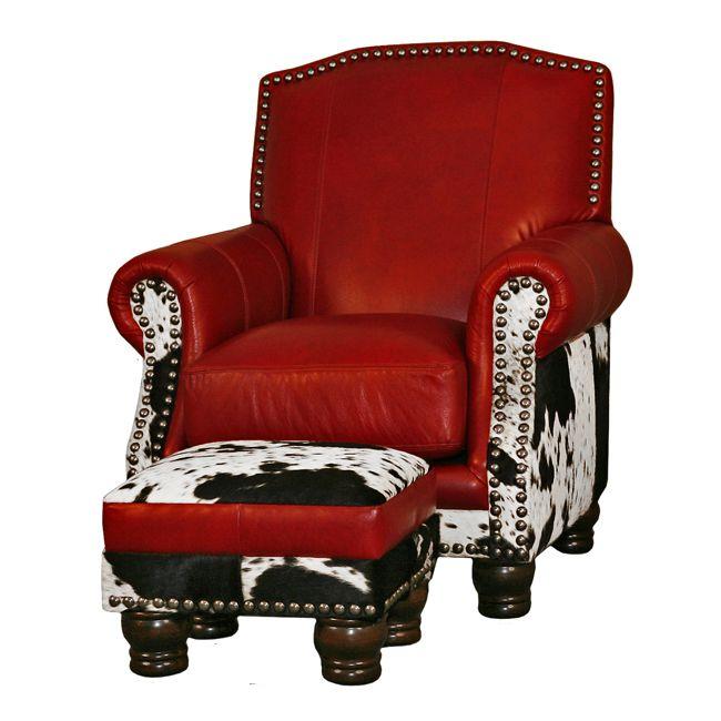 Western Furniture: Fireside Chair|Lone Star Western Decor