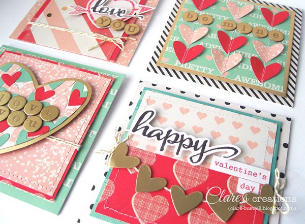 Valentine's Day Quick Makes | Clare's creations