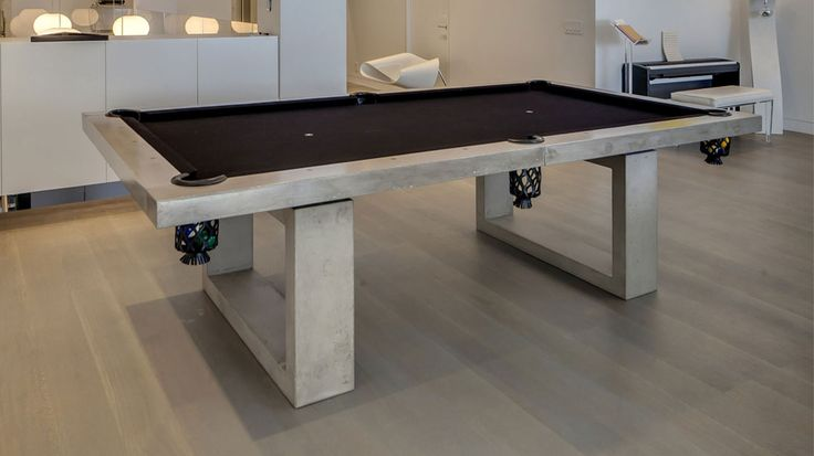Concrete pool table plans woodworking plans doll bed for Pool table plans