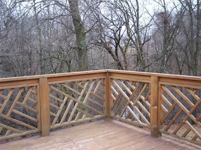 deck railing google search - Patio Handrail Ideas