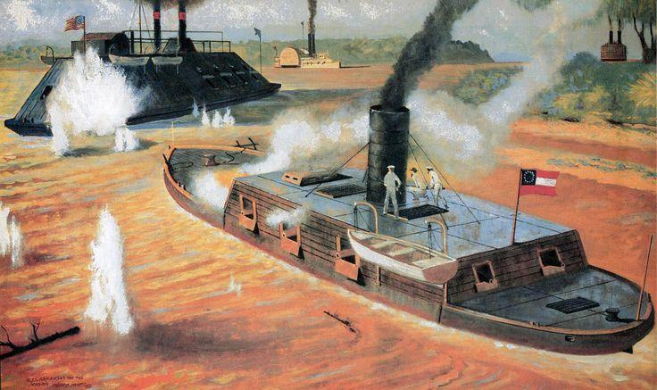 """7 августа 1862 года из списков флота Конфедеративгых Штатов Америки был исключен погибший накануне боевой корабль """"Арканзас"""" - единственный полноценный…"""