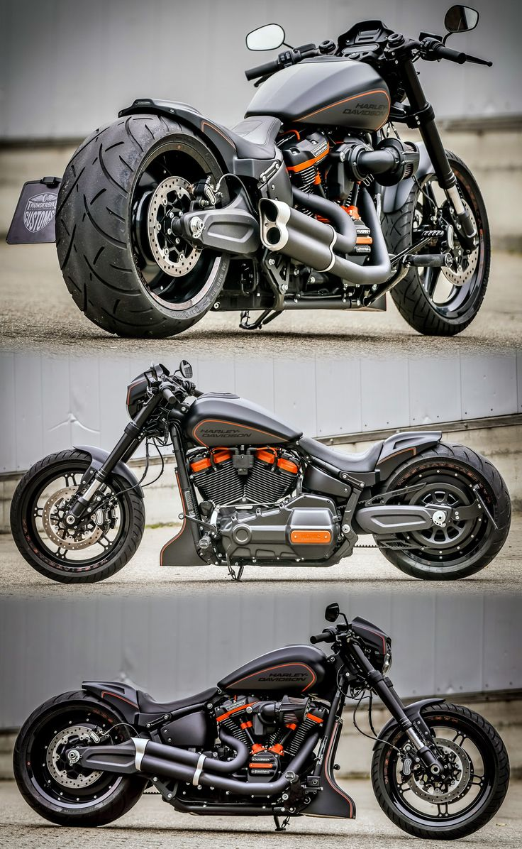 Thunderbike Harley-Davidson FXDR Custom Motorrad Dragster Style   – Harley-Davidson Motorcycles