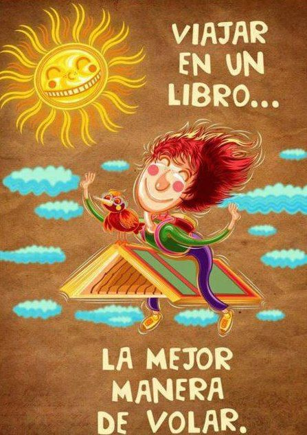 La imagen nos llega por cortesía de Bibliotecas escolares / CRA de Chile…