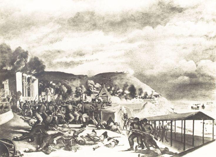 Asalto de Chorrillos por los Chilenos en la guerra del Pacífico