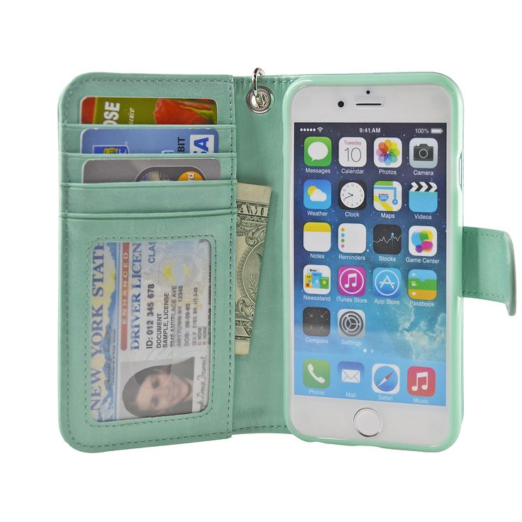 4.7 Inch iPhone 6/6S Wallet Case
