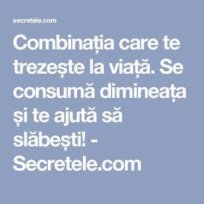 Combinația care te trezește la viață. Se consumă dimineața și te ajută să slăbești! - Secretele.com