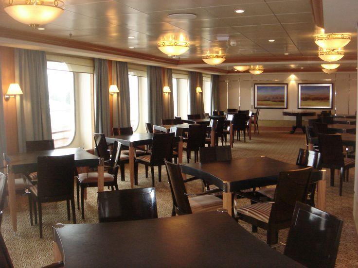 Crystal Cruises - Crystal Serenity, Bridge Lounge