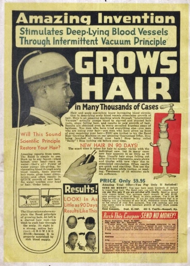 Amazing Invention Grows Hair.