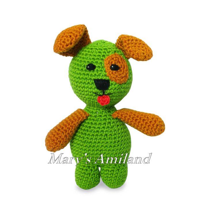 Freddy Puppy The Ami -Amigurumi crochet | Craftsy
