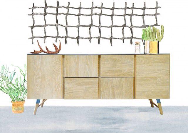 Sketch Roski Buffet. Illustration by @homedrawn