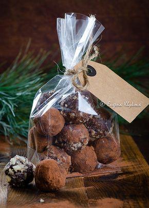 Шоколадные трюфели с ликером Бейлиз.