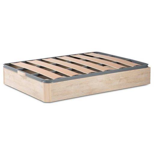 Canapé abatible de madera con base de lamas de 40X30cm