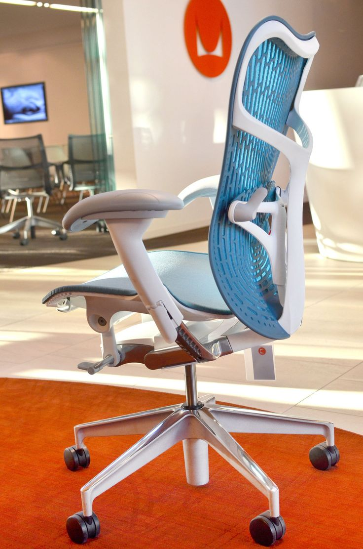 herman miller and studio 75 mirra 2 task chair preview event