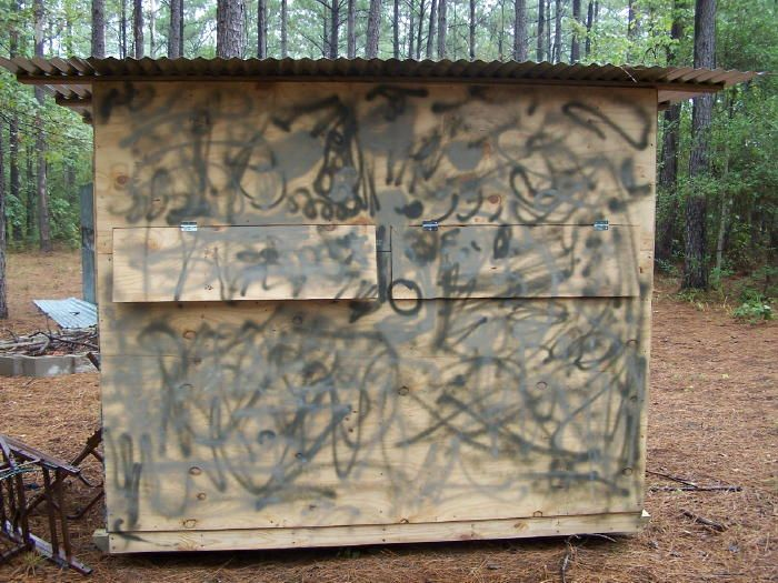 25 best deer blind plans ideas on pinterest deer blinds for How to make a deer stand out of wood