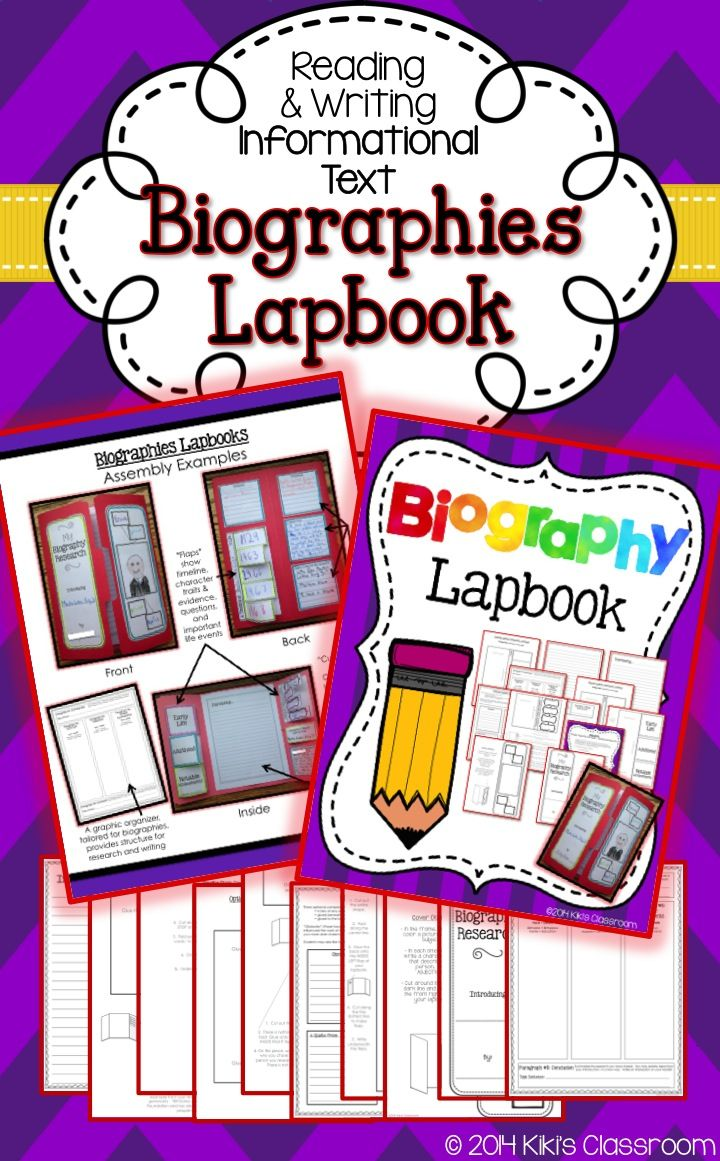 Biography Book Report GRAPHIC ORGANIZER - Scholastic