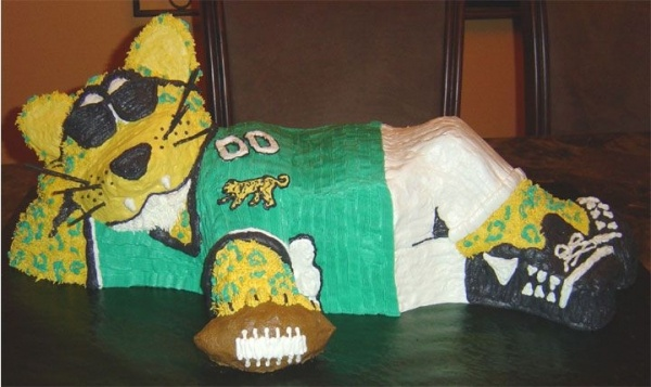20 Best Images About Jacksonville Jaguars Cakes On