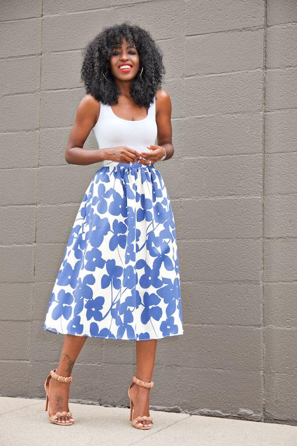 25  best ideas about Full midi skirt on Pinterest | Full skirt ...