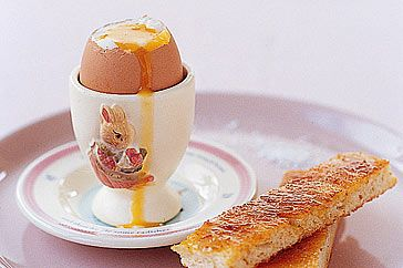 Boiled Egg And Soldiers Recipe - Taste.com.au