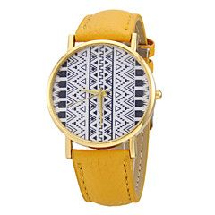 reloj de cuarzo de la venda de la PU patrón del tótem de las... – USD $ 7.99