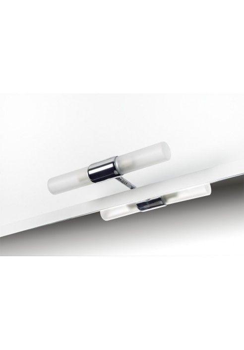 Aplique de ba o adagiettopara instalar en tablero espejo - Aplique pared bano ...