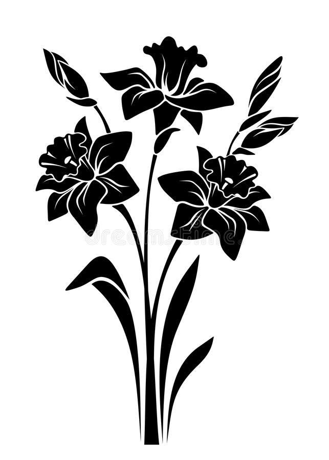Found On Bing From Www Dreamstime Com Flower Silhouette Bird Silhouette Art Floral Stencil