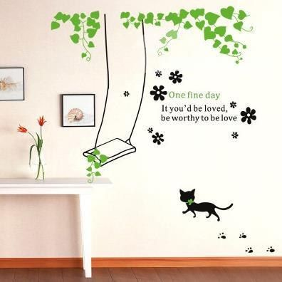 Cheap Wall Stickers For Kids Rooms Home Design Living Room Plant Nature  Sticker Part 40