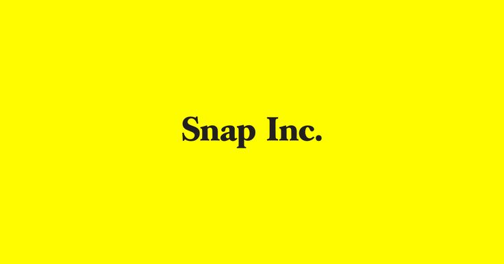 Brand Guidelines – Snap Inc.