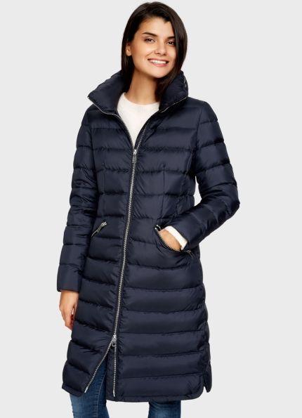 Купить Пуховое пальто с высоким воротником (LJ6R9B) в интернет-магазине одежды O'STIN