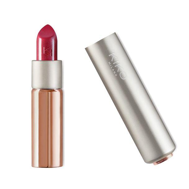 Kiko - Glossy Dream Sheer Lipstick - 206 Sangria -  semi sheer