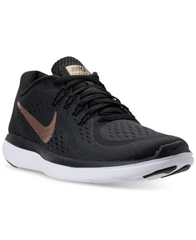 107cd52d2e8d Nike Women s Flex 2017 Run Running Sneakers from Finish Line - Finish Line  Athletic Sneakers - Shoes - Macy s