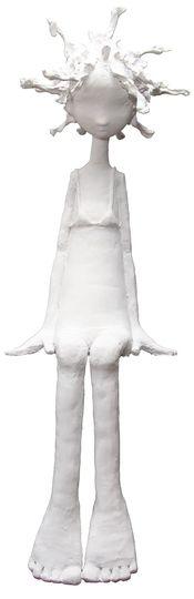 Lolita_ Paper sculpture by Maria Rita