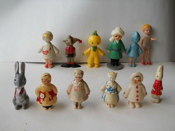Заяц (Теремок 1). Советские игрушки - http://samoe-vazhnoe.blogspot.ru/