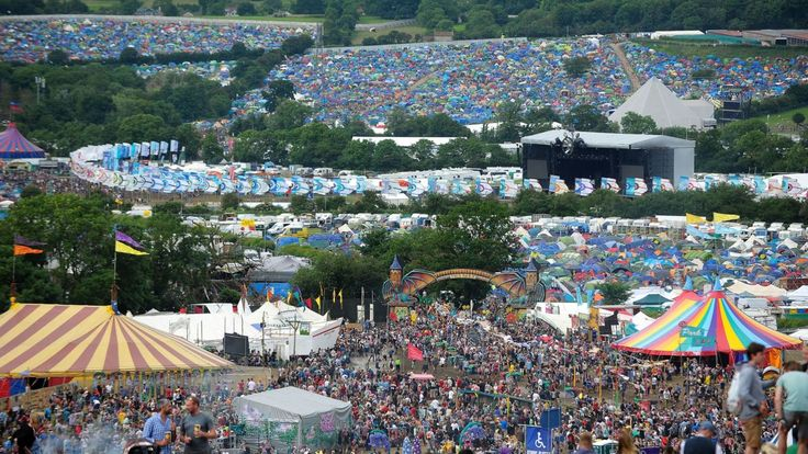 The first line-up poster for Glastonbury 2017 has been revealed, with Katy Perry, The XX and Biffy Clyro among the acts announced.