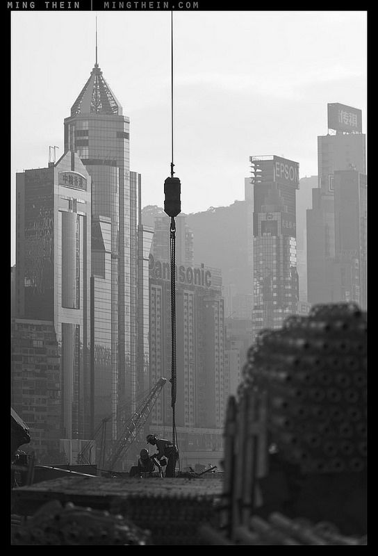 Image by Ming Thein.  This series of images comes from my body of work from the last year-plus for client Chun Wo in Hong Kong; they are the largest local construction company and are mainly involved in large infrastructure projects.