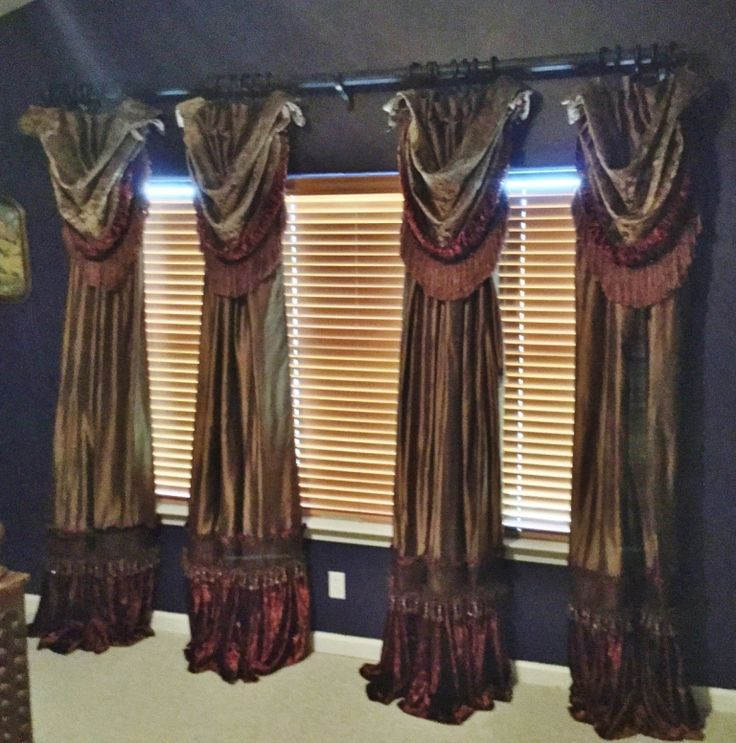 DRAPES: Order Today, Yours In About A Week! Panel Style #11 With