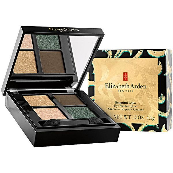 Elizabeth Arden Eye Shadow Quad, Golden Opulence ($40) ❤ liked on Polyvore featuring beauty products, makeup, eye makeup, eyeshadow, elizabeth arden eye shadow, palette eyeshadow, elizabeth arden and elizabeth arden eyeshadow