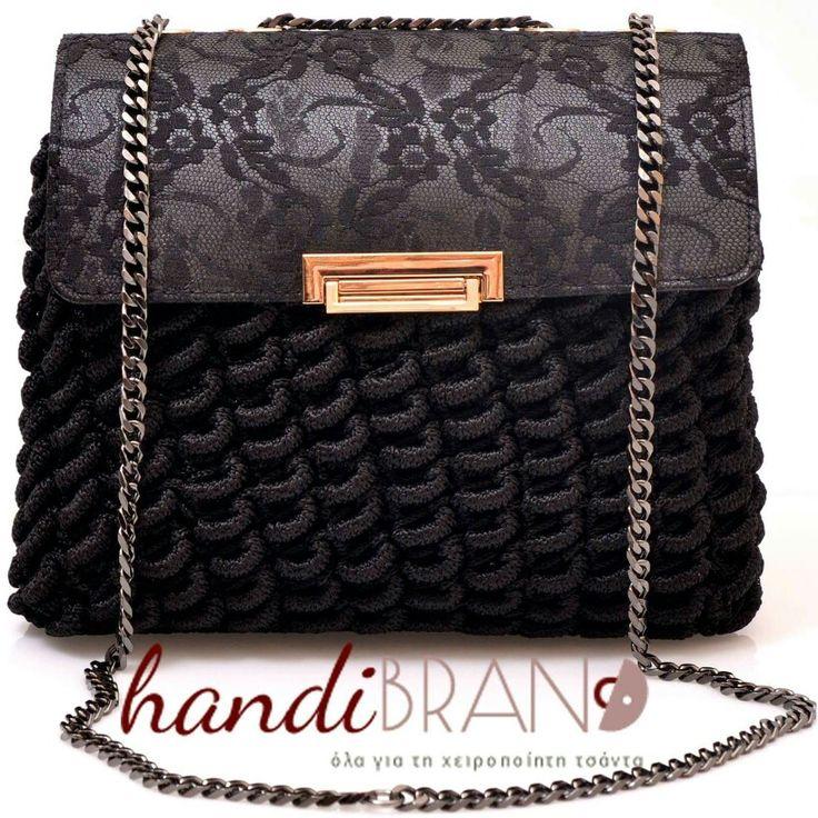 chanel bag..rococo style..crochet bag