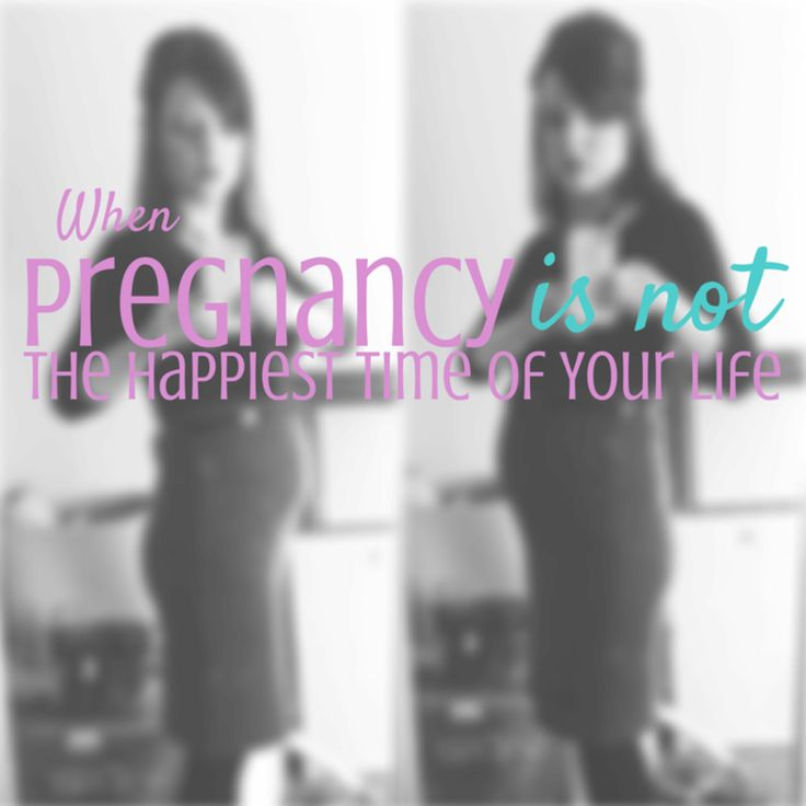Pregnancy is a happy time, except when it's not. Here's some encouragement for you moms dealing with depression during pregnancy | Momming is Hard