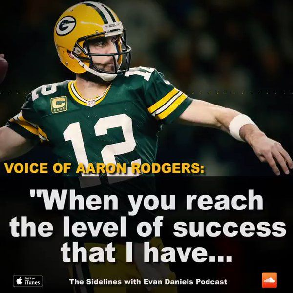 @NFLonFox: Aaron Rodgers on using Tom Brady as a model for his career down the road.  https://twitter.com/NFLonFOX/status/847638337565335553 Submitted March 31 2017 at 06:16AM by nicoras via reddit http://ift.tt/2ogzl6q